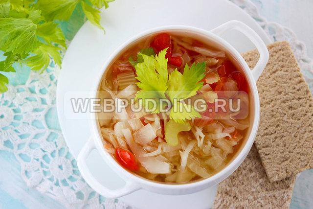 Суп з селери для схуднення: правильні рецепти