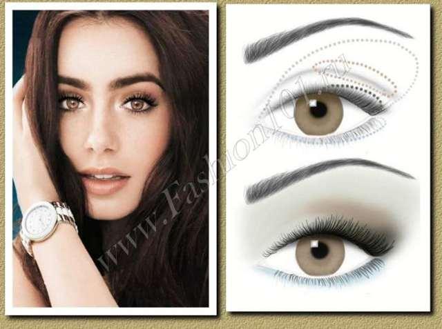 Вечірній макіяж для карих очей: як зробити, покрокове відео, ідеї для макіяжу