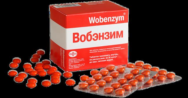 Вобензим таблетки: склад ліки, для чого препарат і показання до застосування